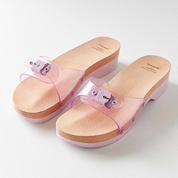 26c06e8ca New Dr. Scholl s X UO Original Sandal in Purple. M 5ad7db942ae12f2721698ea3